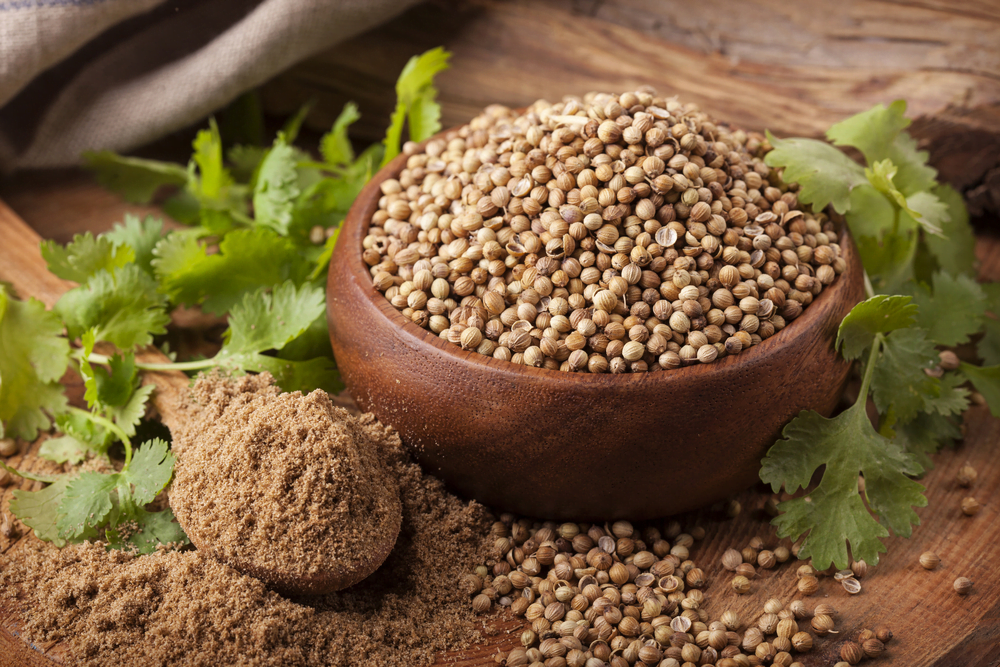 Coriander seed Nutrition Facts & Calories Information