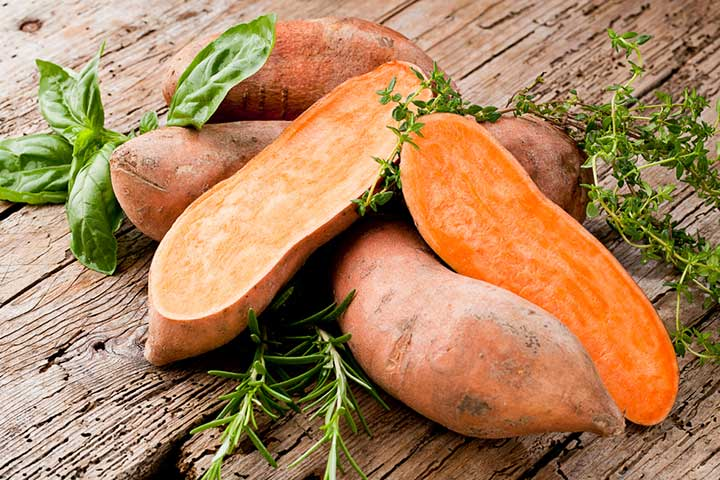 Sweet potatoes nutrition facts and calorie