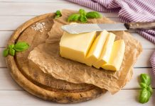 butter nutrition facts and calorie