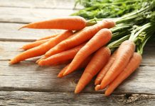 carrots nutrition facts and calorie information