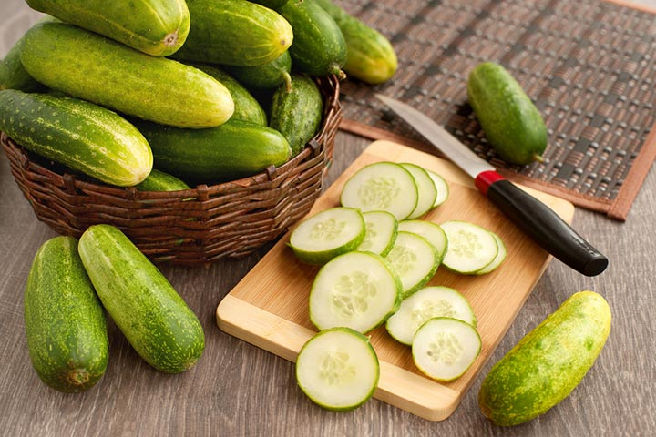 cucumber nutrition facts and calorie