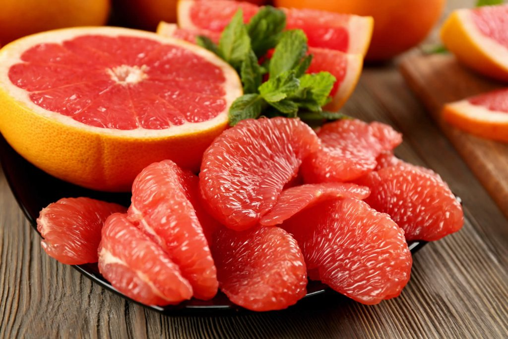 Grapefruit nutrition facts and calorie