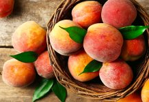 Peach nutrition facts and calorie information