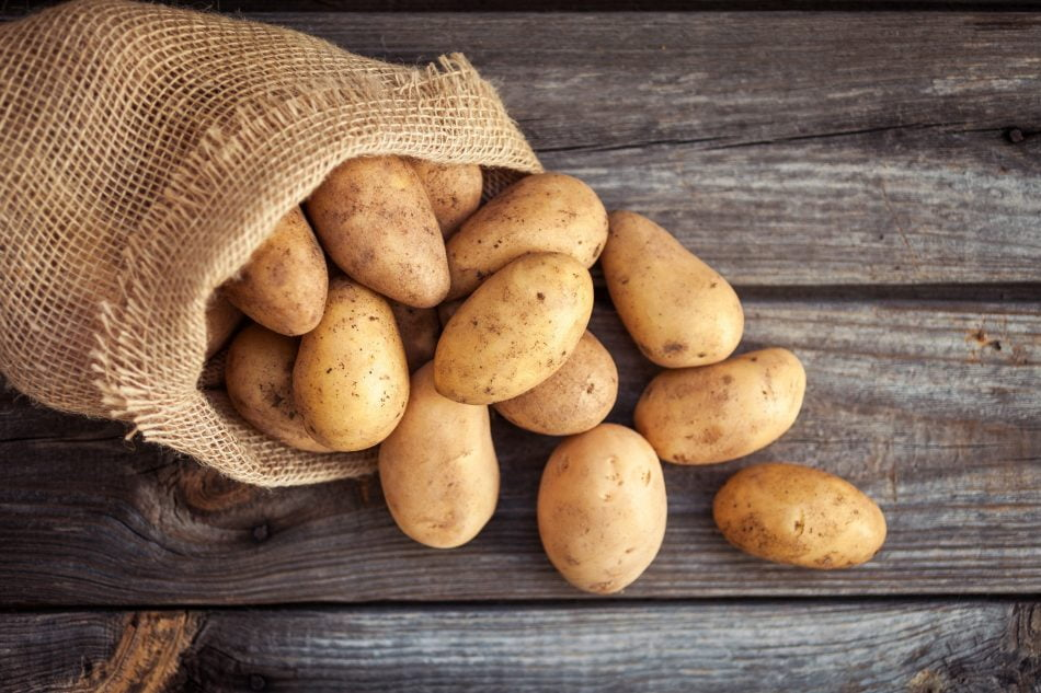 Potato nutrition facts and calorie