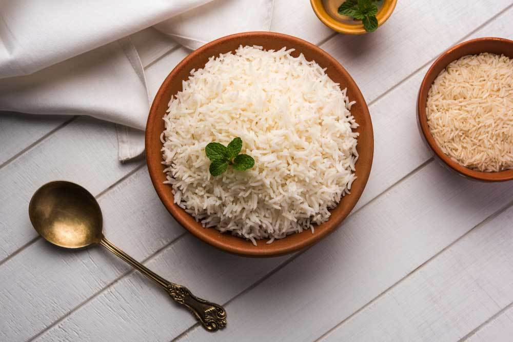 rice nutrition facts and calorie