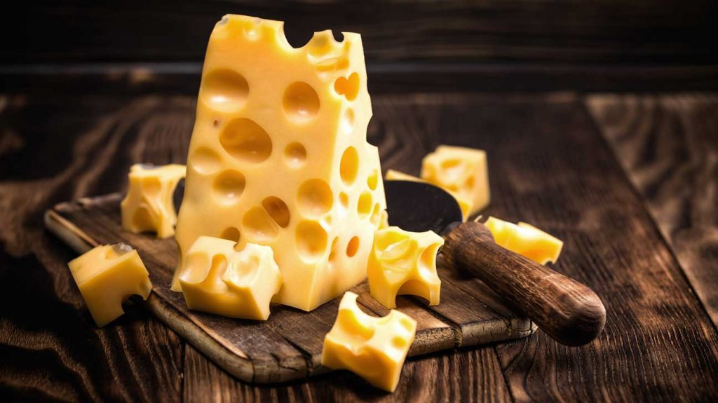 swiss cheese nutrition facts and calorie