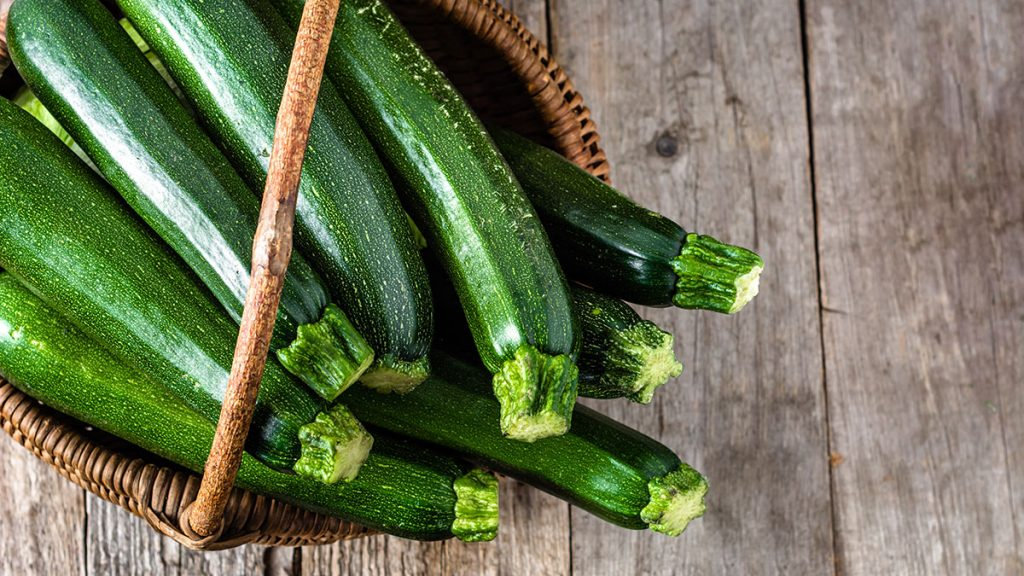 zucchini nutrition facts and calorie