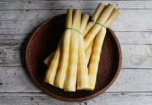 Bamboo Shoots Nutrition data