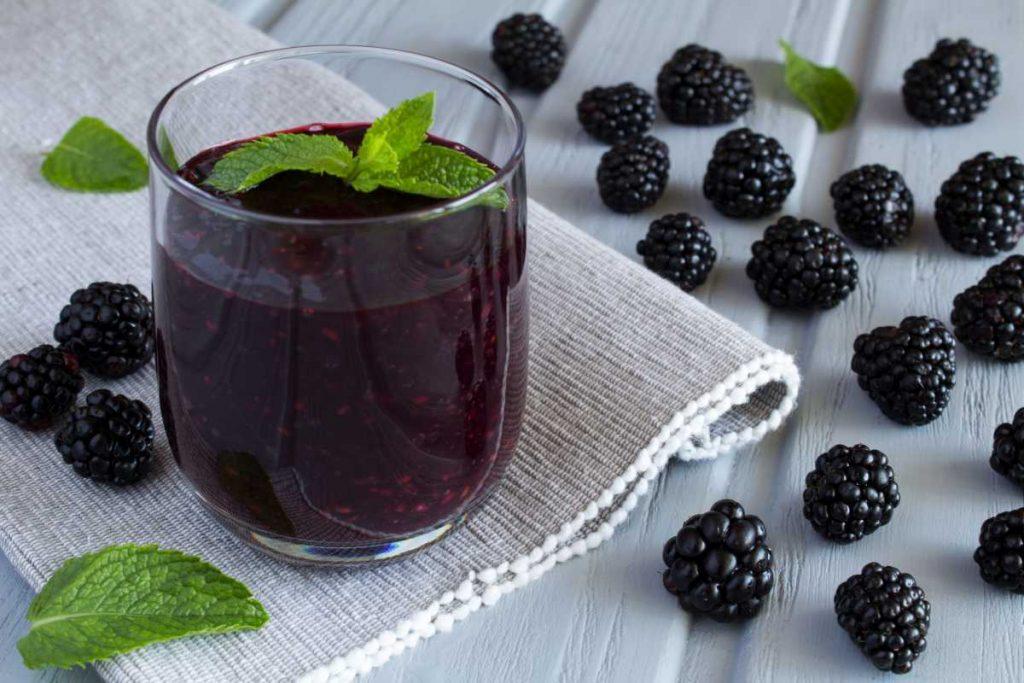 Blackberry juice Nutrition Facts