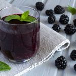 Blackberry juice Nutrition Facts and Calories Information