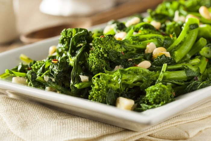 Broccoli Raab cooked Nutrition Facts
