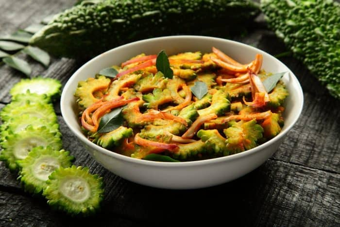 Cooked Bitter Gourd Nutrition Facts