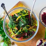 Cooked Greens Beet Nutrition Facts and Calories Information