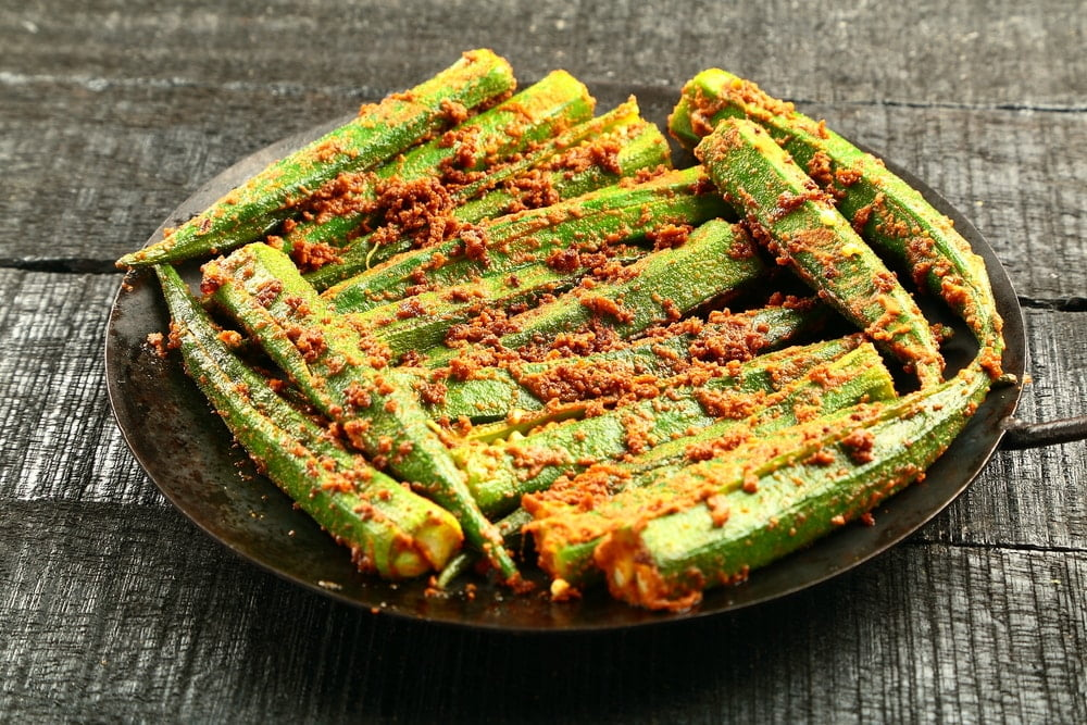 Cooked Okra Nutrition Data