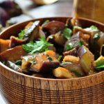 Eggplant, cooked, boiled without salt Nutrition Facts
