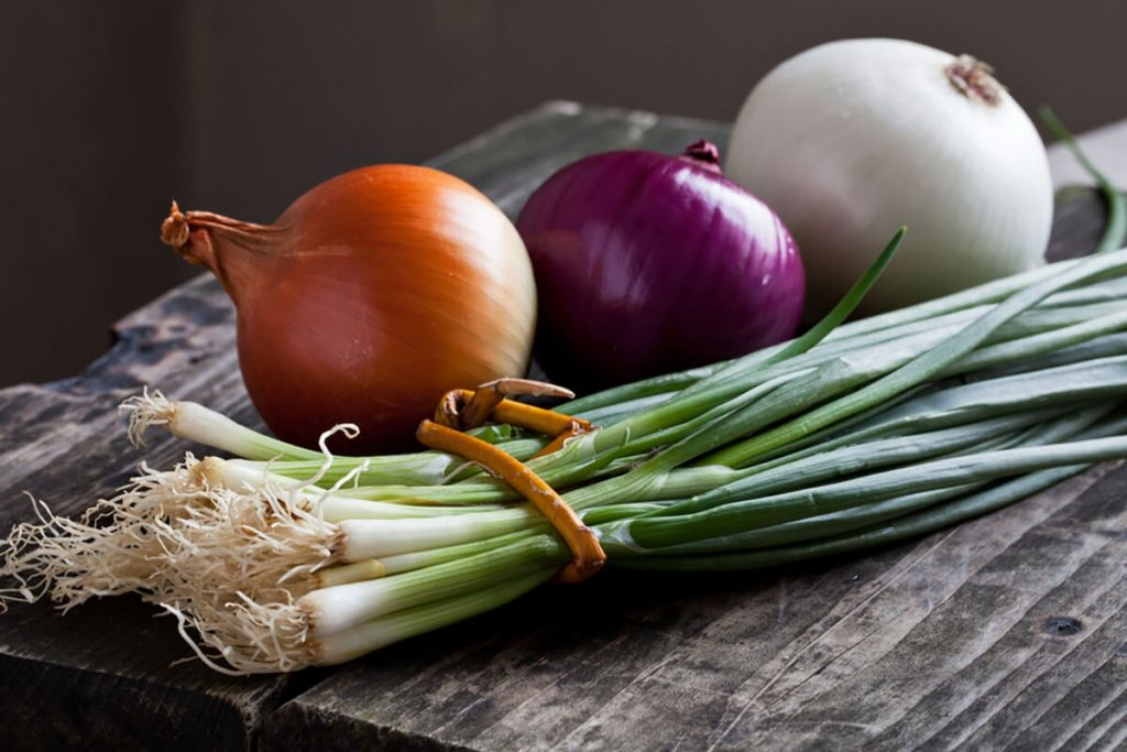 Green spring Onions Nutrition Facts