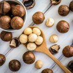 Macadamia Nuts, dry roasted, without salt added Nutrition Facts