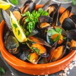 Mollusks, mussel Nutrition facts and Calories Information