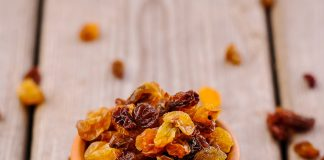 Raisins Nutrition Facts