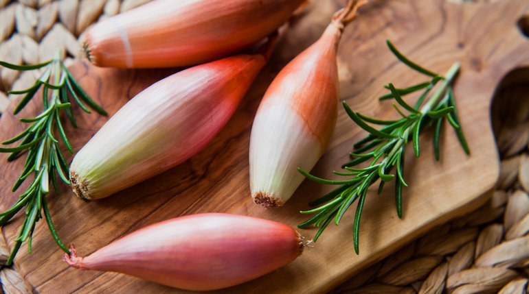 shallots nutrition facts and calorie