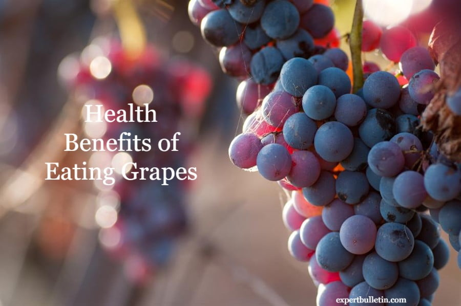 Health Benefits Red Grapes