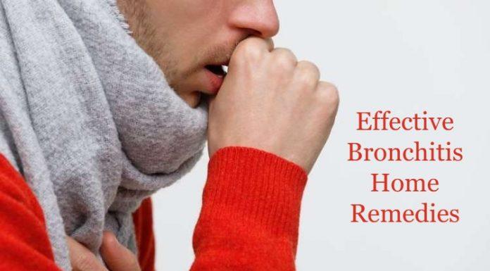 Effective Bronchitis Home Remedies