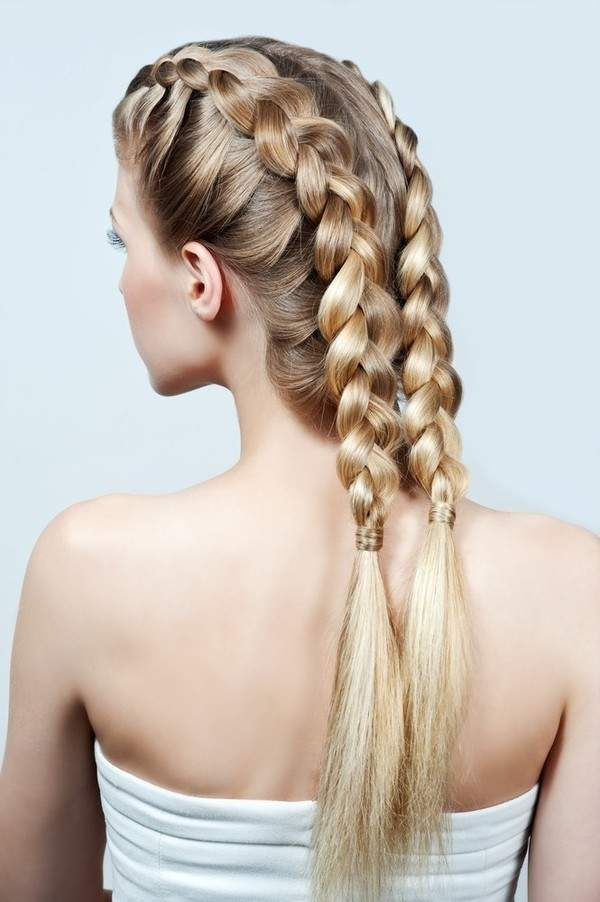 Fantasy braids hairstyle