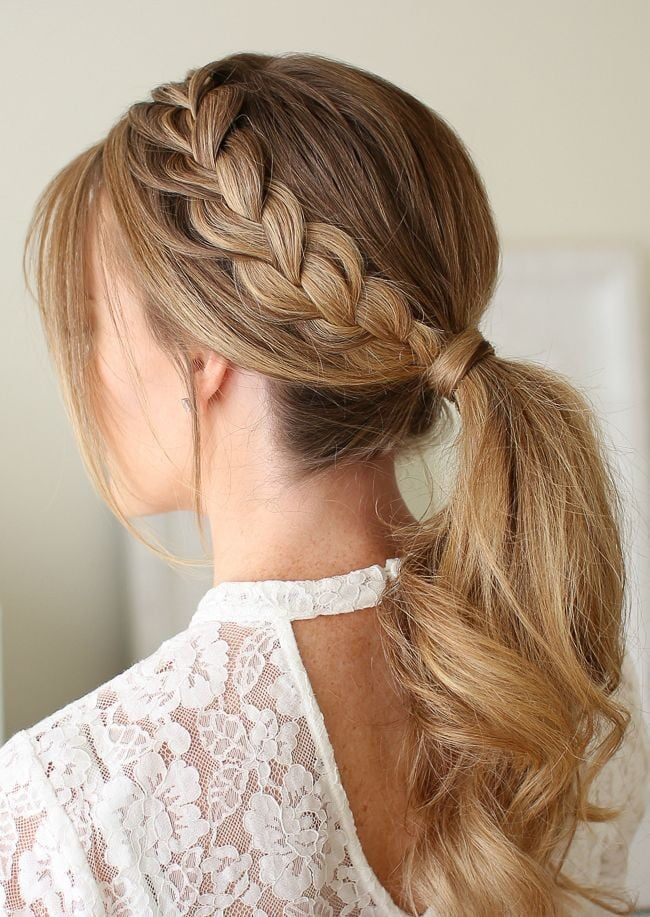 Up Do Braid Hairstyle