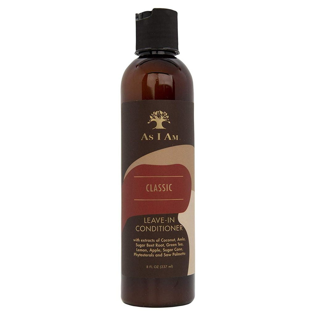 As I Am Leave In Conditioner - 8 Ounce - Conditions and Softens Curls & Coils - Moisturizes and Strengthens Hair