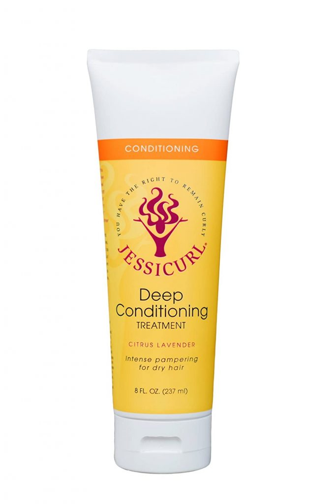Jessicurl Llc. Llc. Deep Conditioning Treatment, Citrus Lavender Intense Pampering for Dry Hair