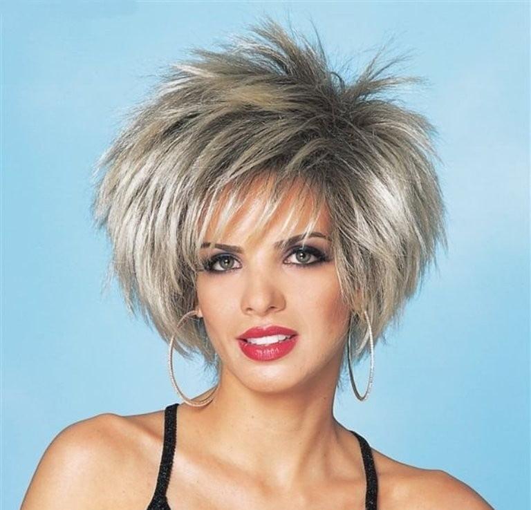 Spiky Bob Hairstyles