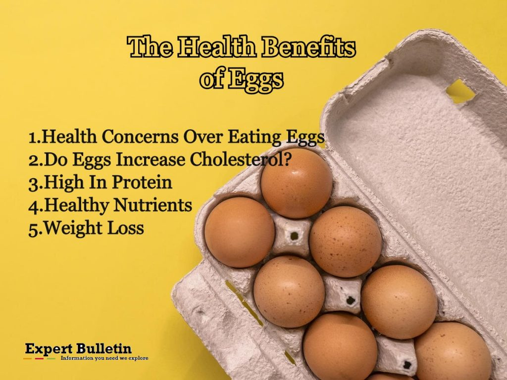 6 The Health Benefits of Eggs Infographic