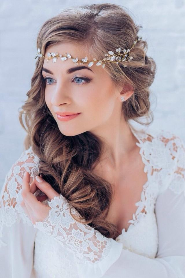 Side Part Wedding Hairstyles