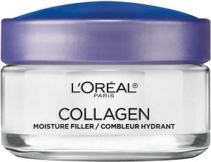 Collagen Face Moisturizer by L'Oreal Paris Skin Care Day and Night Cream Anti Aging Face Cream to Smooth Wrinkles