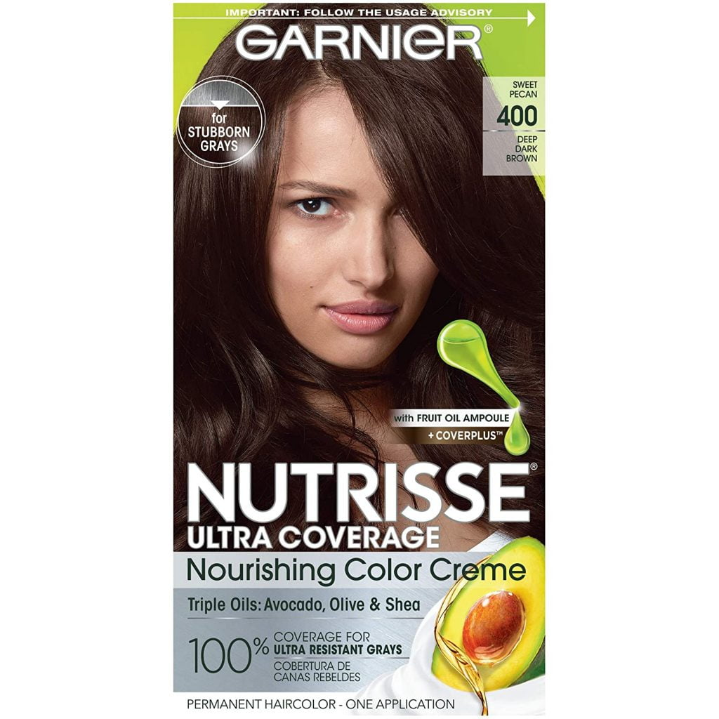 Garnier Nutrisse Deep Dark Brown Hair color