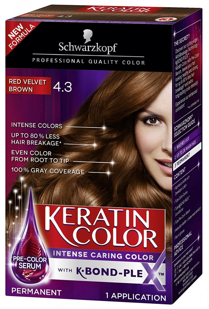 Schwarzkopf Keratin Color Permanent Hair Color