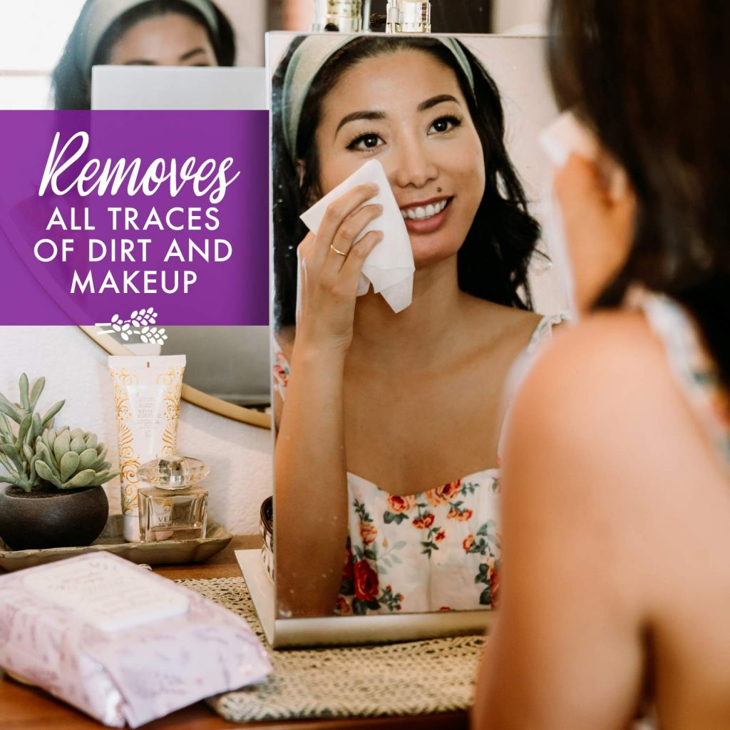 Beautyfrizz Lavender Face Wipes