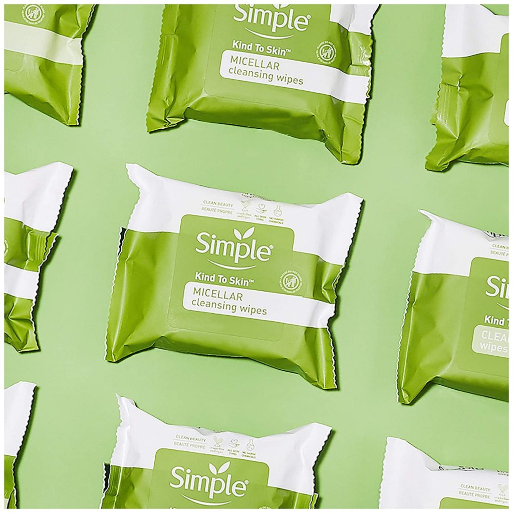 Simple Kind to Skin Facial Cleansing Wipes