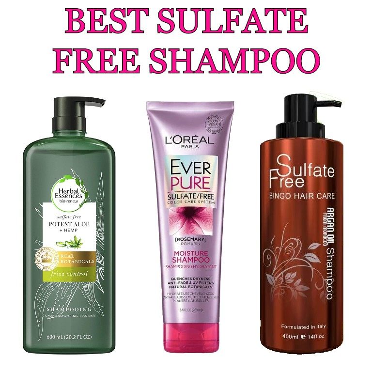 best sulfate free shampoo