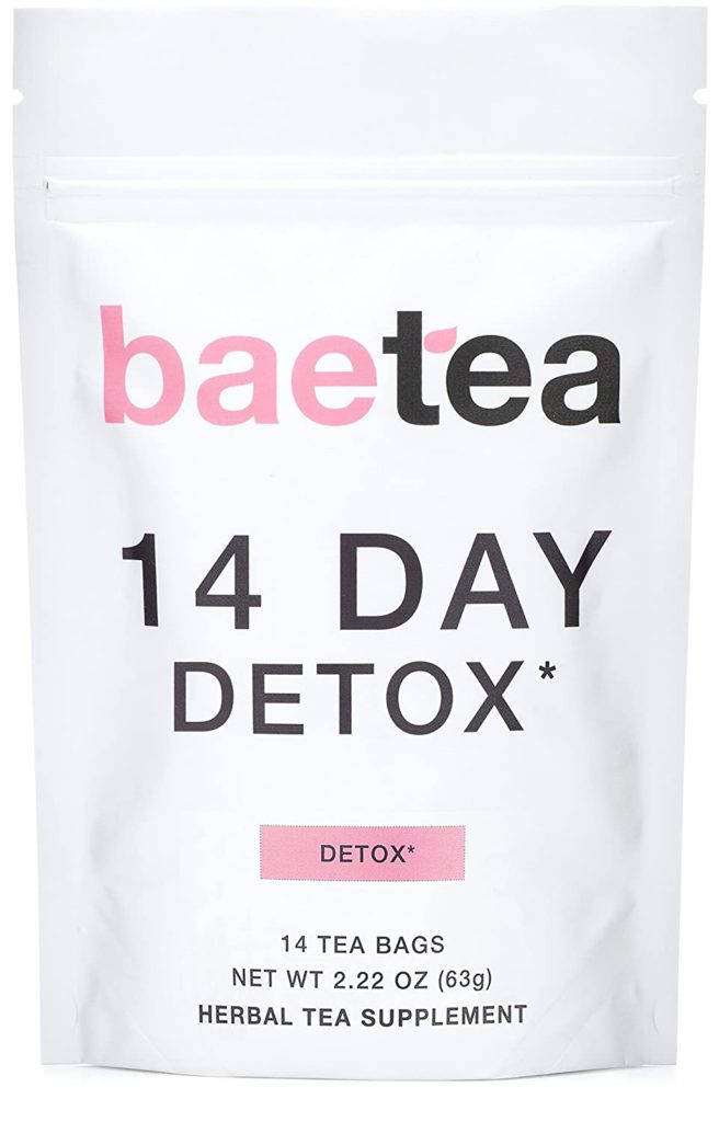 Baetea 14-Day Teatox Herbal Detox Tea