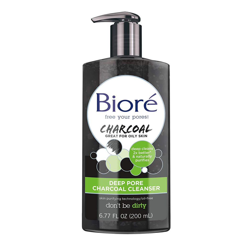 Biore Deep Pore Charcoal Face Wash
