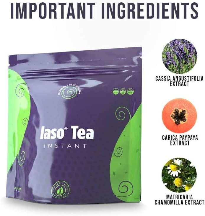 IASO Natural Detox Instant Herbal Tea