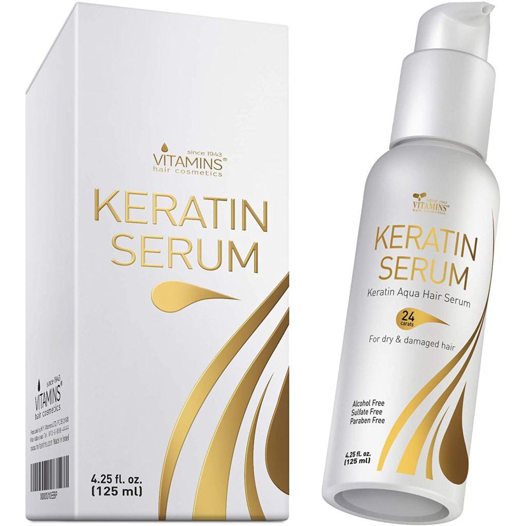 Vitamins Keratin Protein Hair Serum
