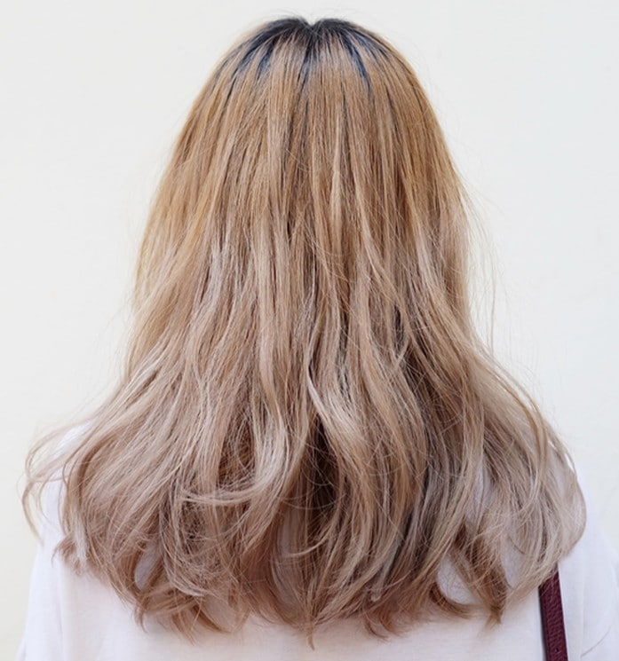 bronze ash hair color
