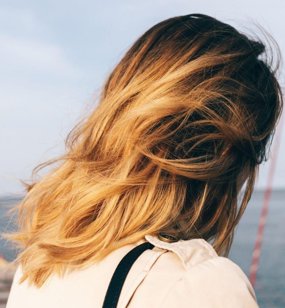 Golden Honey Brown Hair Color