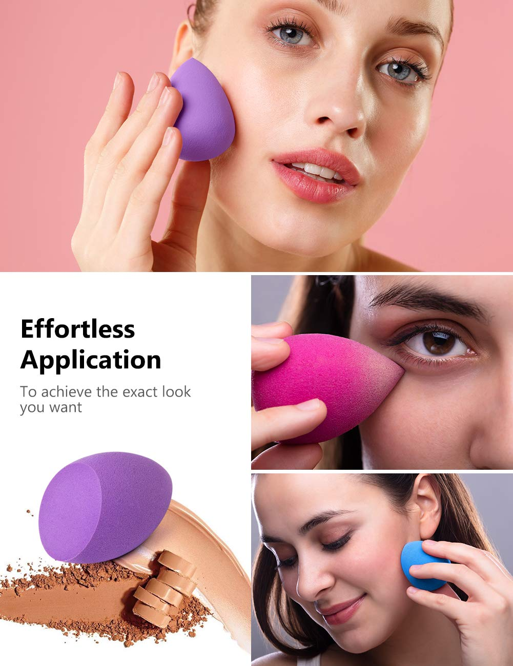 Tips for Using the Makeup Sponges