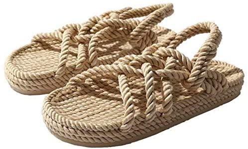 Handmade Hemp Gladiator Rope Sandals