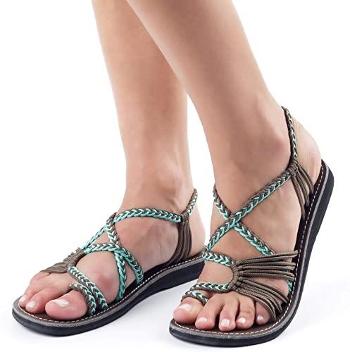 Plaka Flat Sandals for Women