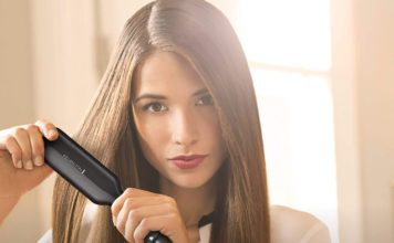 Digital Hair Straightener